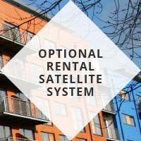 Optional rental satellite system